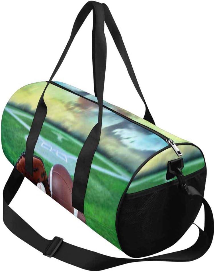 and Mitt Adults Travel Tote Duffel Bag Carry on Bat INTERESTPRINT Baseball