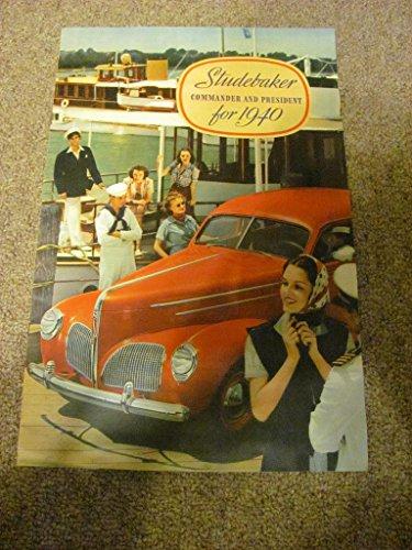 massive 1940 Studebaker auto sales catalog, vintage,ONE OF A KIND