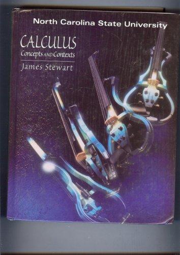 Calculus: Concepts & Contexts