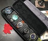Akura Hard Watch Travel Case, 5 Slot Display Case