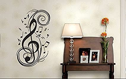 Music Wall Decal Quote Home Decor Art Quote Decals Wall Art Stickers Decal Home  Decor Decorate