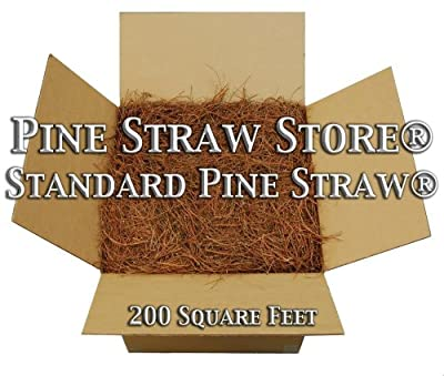 Pine Straw Mulch - Pine Needle Mulch - Free Shipping - 200SqFt - 9 Inch Pine Mulch