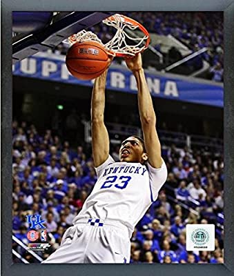 "Anthony Davis University of Kentucky Wildcats 2011 Action Photo (Size: 12"" x 15"") Framed"