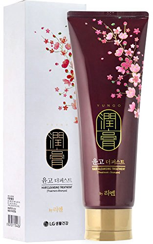 - LG Reen Yungo Hair Cleansing Treatment Shampoo 250ml/8.45 Ounce