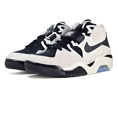 sports shoes 5087a 60bde Galleon - Nike Air Force 180 Men's Shoes Sail/Black 310095-101 (9 D(M) US)