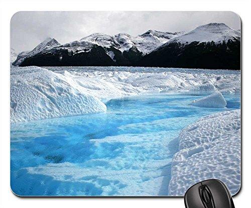 Mouse Pad - Glacier Argentina Patagonia Mountains - Mountains Patagonia Of