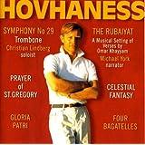Hovhaness - Symphony No 29; Prayer of St Gregory; Rubaiyat