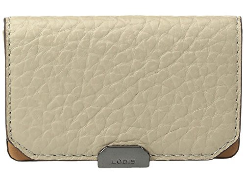 Lodis Accessories Women's Borrego Mini Card Case Taupe Wallet