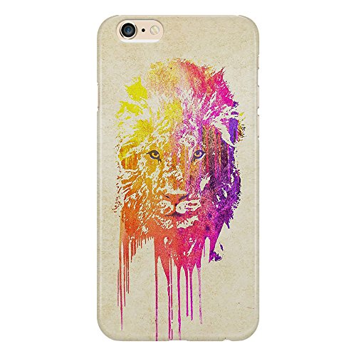 Cover Custodia Protettiva Lion Colorful Oil Art Sbavature Leone Animal Case Iphone 4/4S/5/5S/5SE/5C/6/6S/6plus/6s plus Samsung S3/S3neo/S4/S4mini/S5/S5mini/S6/note