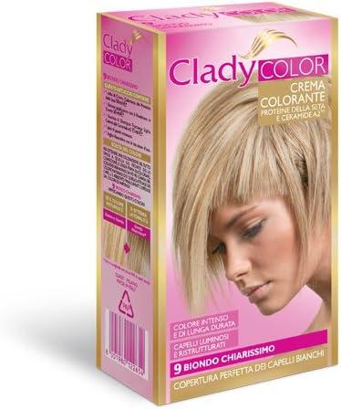 Color crema colorante cabello tinte tono 9 rubio claro ...