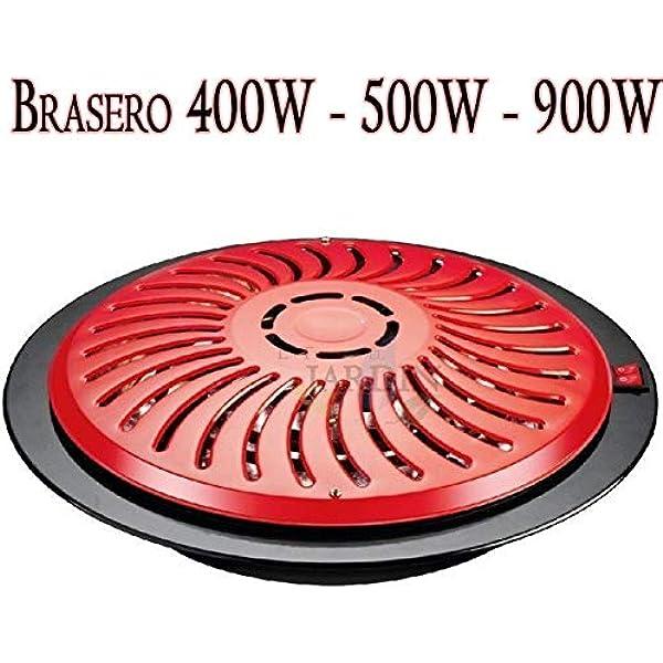 Brasero calefactor eléctrico 2 posiciones calor. Copa para mesa ...
