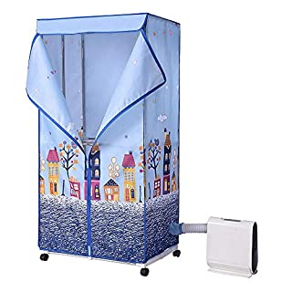 Yescom 850W Electric Automatic Clothes Dryer Portable Laundry Heater Folding 44 lbs Rack Wardrobe Air-Dry Machine
