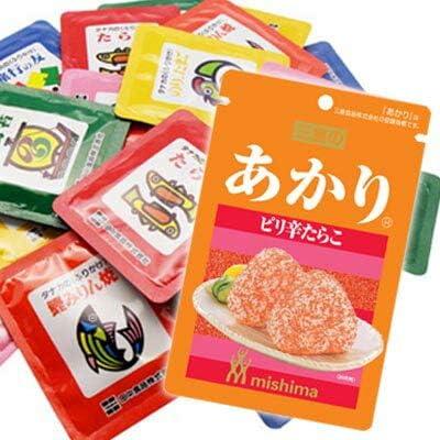 三島食品 あかり1袋 & タナカのふりかけ ミニパック(30袋) セット