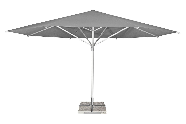 PROFILINE TELESTAR 500 cm Gastro-Schirm terra cotta Profi-Ausführung