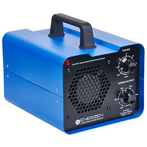 Enerzen Commercial Ozone Generator Industrial O3 Air Purifier Deodorizer Sterilizer O-UVC3 3 Ozone Plates