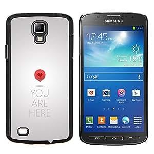 Stuss Case / Funda Carcasa protectora - Mapas amor tan significativo - Samsung Galaxy S4 Active i9295