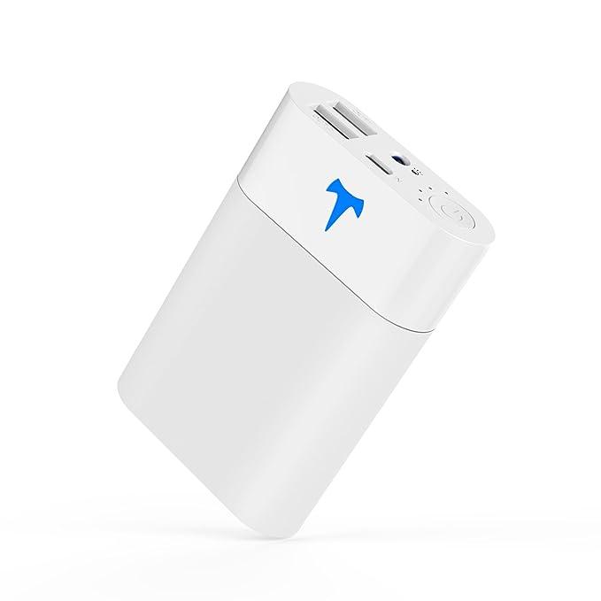 Pequeño Cargador Yoobao 10200mAh Portátil Batería Externa de Salida Dual con Indicador LED Inteligente y Linterna Banco para iPhone iPad Samsung ...