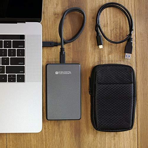 U32 Shadow 1TB External SSD USB-C Portable Solid State Drive (USB 3.1 Gen 2)
