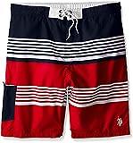 U.S. Polo Assn. Mens 9'' Board Short, Engine Red, 3X