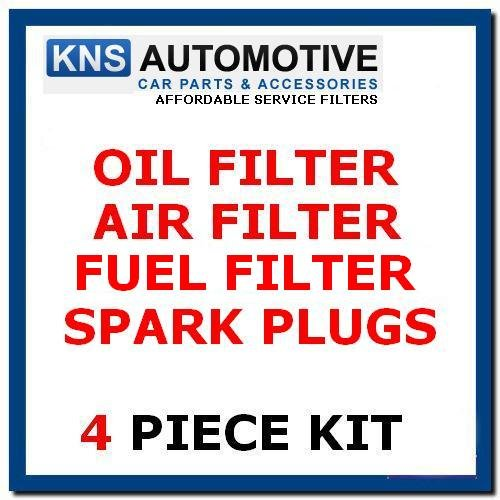 Ka 1.3i (96-02) Oil,Fuel,Air Filters & Plugs Service Kit: