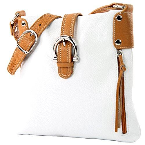 , Präzise Farbe (nur Farbe):Weiß/Camel