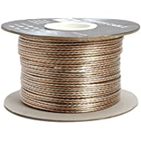 Cmple 16Awg Clear Jacket Compact Speaker Wire Cable -W 300Ft