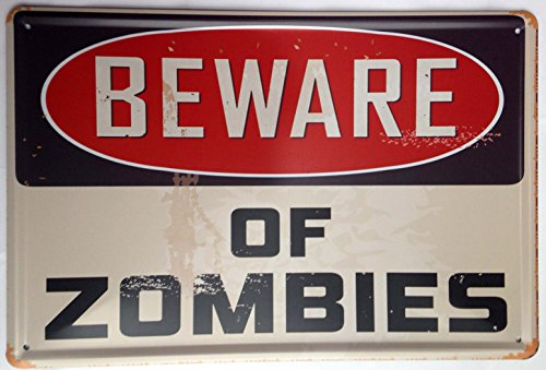 ERLOOD Beware of Zombies,