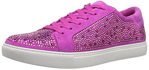 Kenneth Cole New York Kvinders Swarovski Krystal Besat Techni-cole 37,5 Foring Sneaker Bubblegum