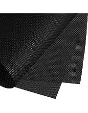Cross Stitch Fabric, JUSTDOLIFE 14 Count Black Aida Cloth Cross Stitch Cloth Embroidery Cloth 59 X 39 for Home DIY Embroidery Decor