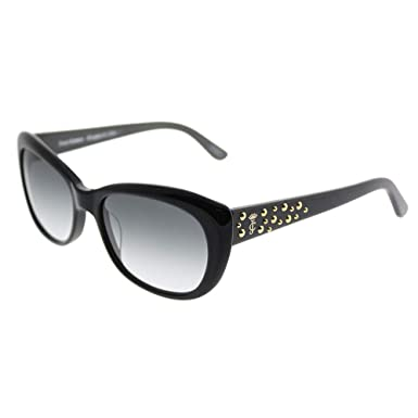 6a0f765c937 Amazon.com  Juicy Couture W-SG-2572 Juicy Couture JU 556-S 807 Y7 - Black  Womens Sunglasses  44  53-17-135 mm  Clothing