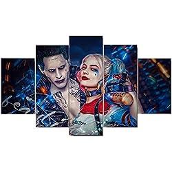 51LQwA0l1wL._AC_UL250_SR250,250_ Harley Quinn Canvas Wall Art