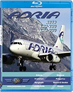 Adria Airways A319, CRJ-200 & CRJ-900 [Blu-ray]
