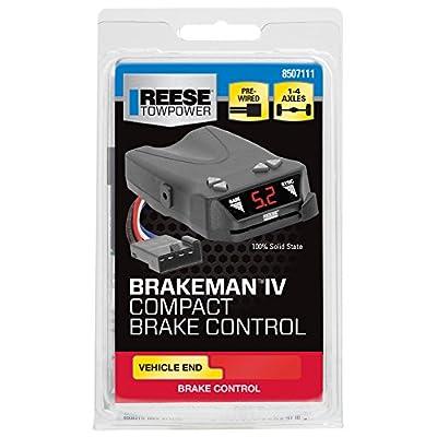 REESE Towpower 8507111 Brakeman IV Digital Brake Control, Small Compact Design: Automotive