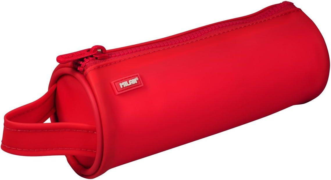 Milan Matt Touch 081131MTOR Estuches, 21 cm, Rojo: Amazon.es: Equipaje