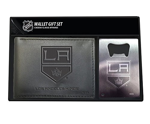 Team Wallet (Team Sports America Los Angeles Kings Men's Bi-Fold Wallet Gift Set with Key Chain)