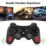 GAMEFRIEND PS3 Controller Wireless, Double Shock