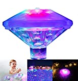 Best Floating Pool Lights - Yundabyy Waterproof Swimming Pool Lights, Baby Bath Lights Review