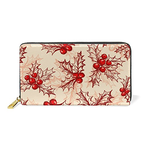 Around Clutch Organizer And TIZORAX Wallet Zip Berry Womens Handbags Holly Purses BWtBzXqnSw