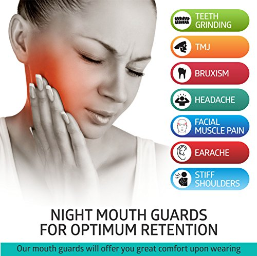 DentalCare Labs Teeth Grinding Custom Fit BPA-Free Mouldable Dental Night Guards in 2 Sizes (Pack of 4) by DentalCare Labs (Image #6)
