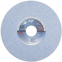 "Norton 5SG46-IVS Type 01 Vitrified Straight Toolroom Grinding Wheel, Ceramic Alumina, 7"" Diameter x 1/2"" Width, 1-1/4"" Arbor, 46 Grit, Grade I, Blue (Pack of 1)"