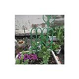ADSRO 3Pcs Garden Trellises,Mini Plant Pot Support Frame Pergola Plastic Climbing Rattan Frame Cages Netting