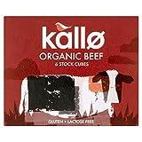 Kallo Organic Beef Stock Cubes (6x11g) - Pack of 6