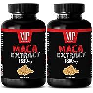 female libido pills - MACA EXTRACT 1600MG - maca extract powder - 2 Bottles (120 Capsules)