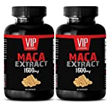 Black maca capsules – Maca 1600mg 4:1 Extract – Relieves fatigue (2 Bottles 120 Capsules) Review