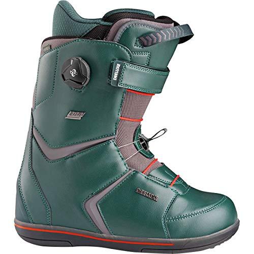 Deeluxe Edge Full Throttle Boa Snowboard Boot - Men's Green/TFP Liner, 9.5/27.5 ()
