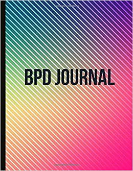BPD Journal: Beautiful Journal To Track Various Moods and