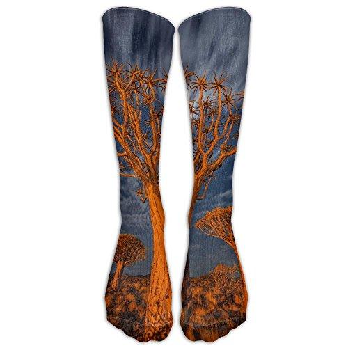 fan products of Cool African Forest Animal Knee High Socks Nursing Tube Socks Thigh High Socks For Women