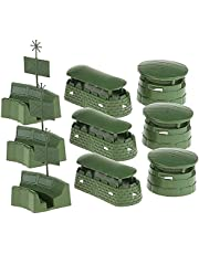 9 Pcs DIY Model Toys Sand Table Bunkers Model Puzzle Learn ToysDauerhaft Nützlich und praktisch Nettes Design Praktisches Design und langlebig