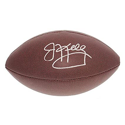 66238ff6231 Image Unavailable. Image not available for. Color  Jim Kelly Autographed  Signed Buffalo Bills NFL Super Grip Football - JSA Certified Authentic