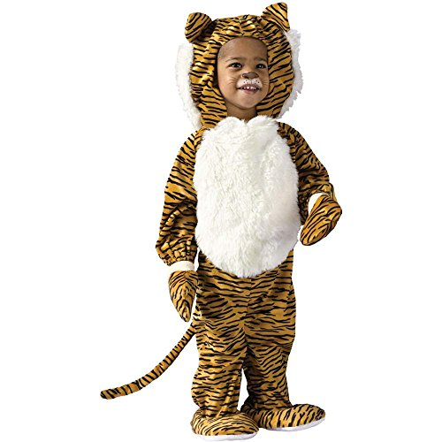 Cuddly Tiger Toddler Costume - 3T-4T - Toddler Tiger Costume Cuddly